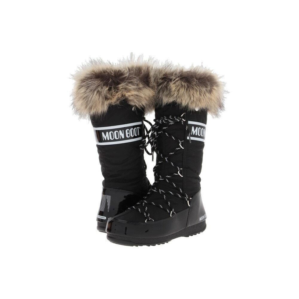 テクニカ レディース シューズ・靴 ブーツ【Moon Boot W.E. Monaco】Black テクニカ レディース シューズ・靴 ブーツ Black 【サイズ交換無料】【素晴らしい】