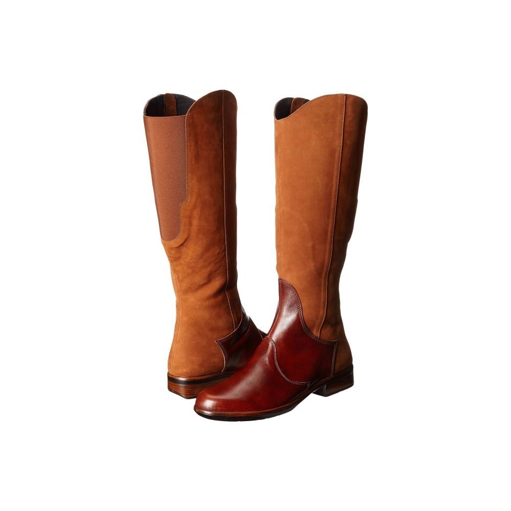 ナオトフットウェアー レディース シューズ・靴 ブーツ【Shamal】Hawaiian Brown Nubuck/Luggage Brown Leather ナオトフットウェアー レディース シューズ・靴 ブーツ Hawaiian Brown Nubuck/Luggage Brown Leather 【サイズ交換無料】