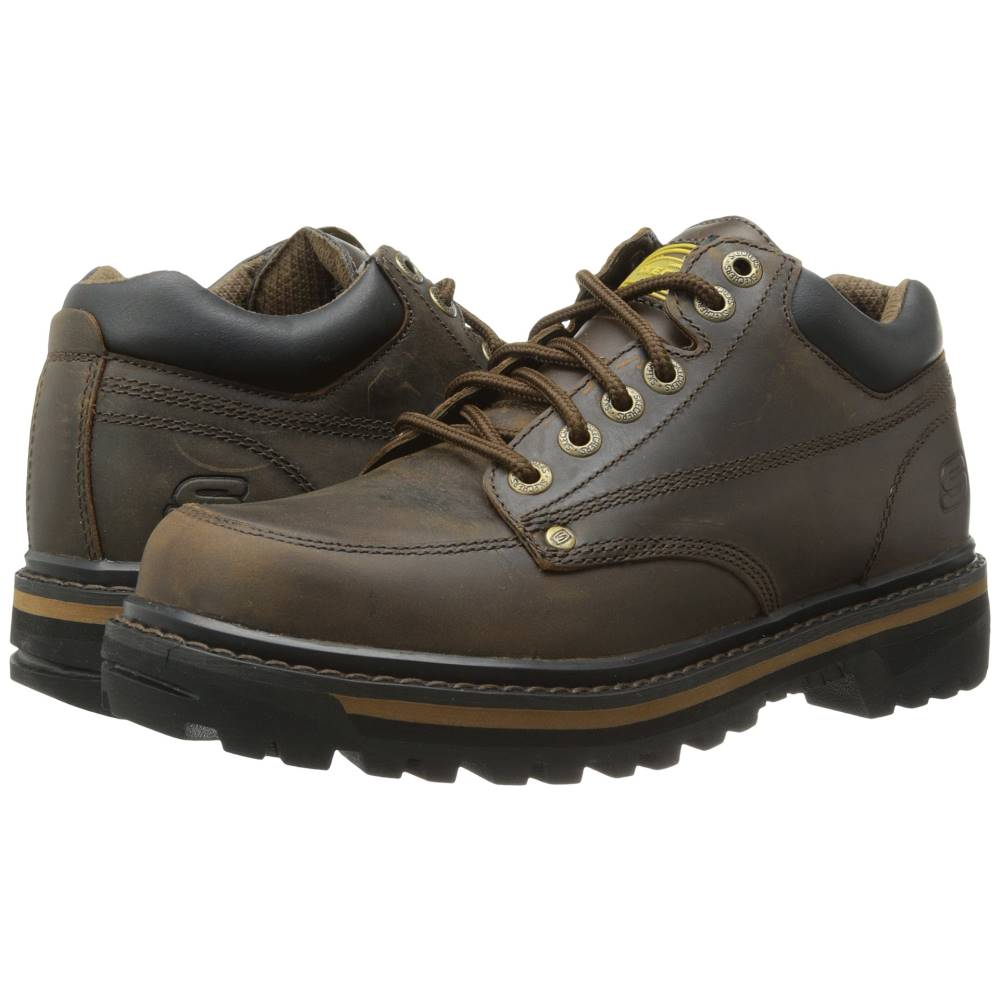 スケッチャーズ メンズ シューズ・靴 ブーツ【Mariner】Dark Brown Crazyhorse Leather