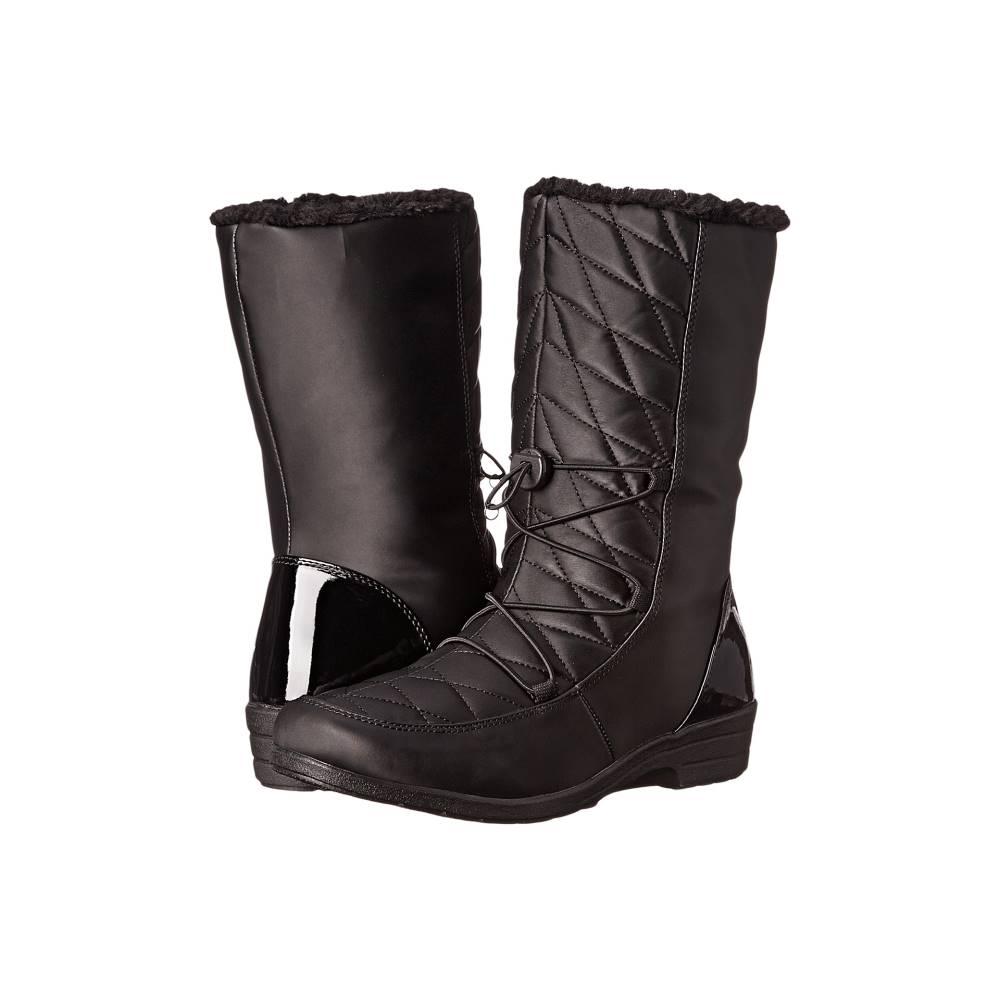 ツンドラブーツ レディース シューズ・靴 ブーツ【Leah】Black ツンドラブーツ レディース シューズ・靴 ブーツ Black 【サイズ交換無料】