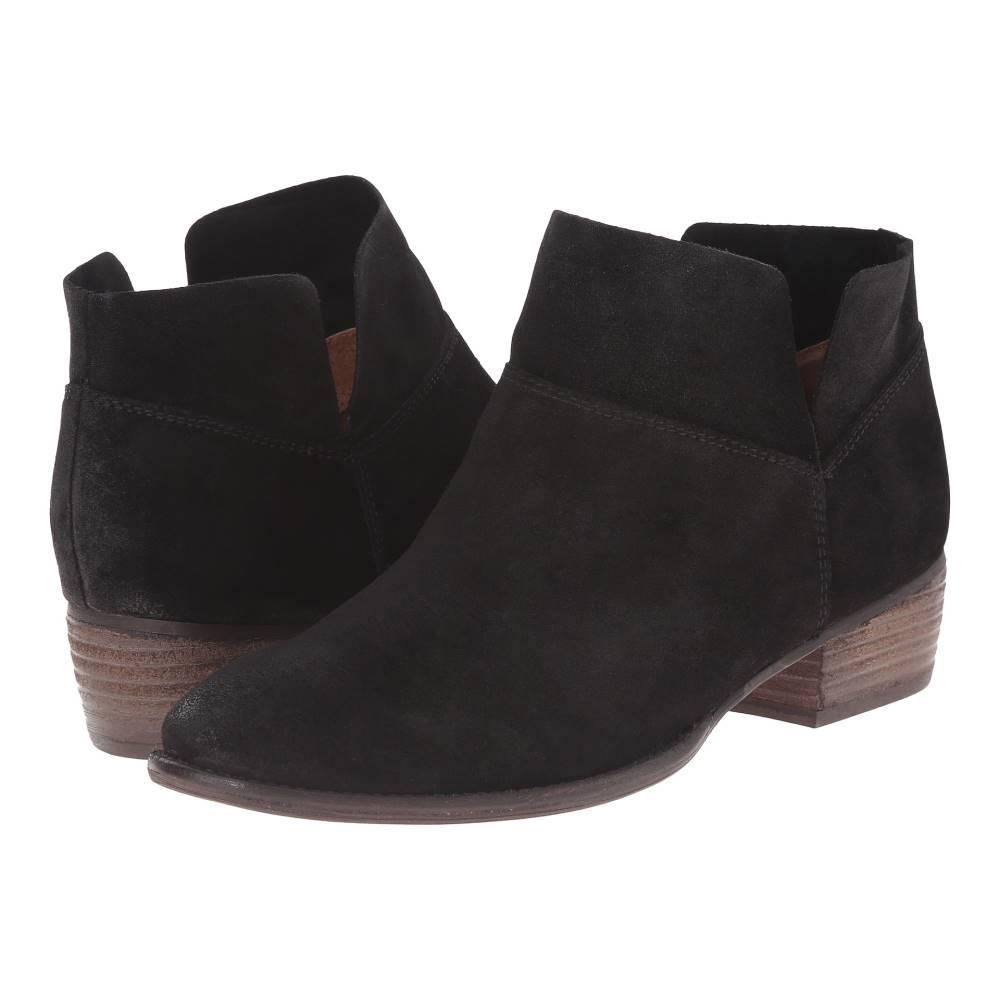 セイシェルズ レディース シューズ・靴 ブーツ【Snare】Black Suede セイシェルズ レディース シューズ・靴 ブーツ Black Suede 【サイズ交換無料】【丸い】
