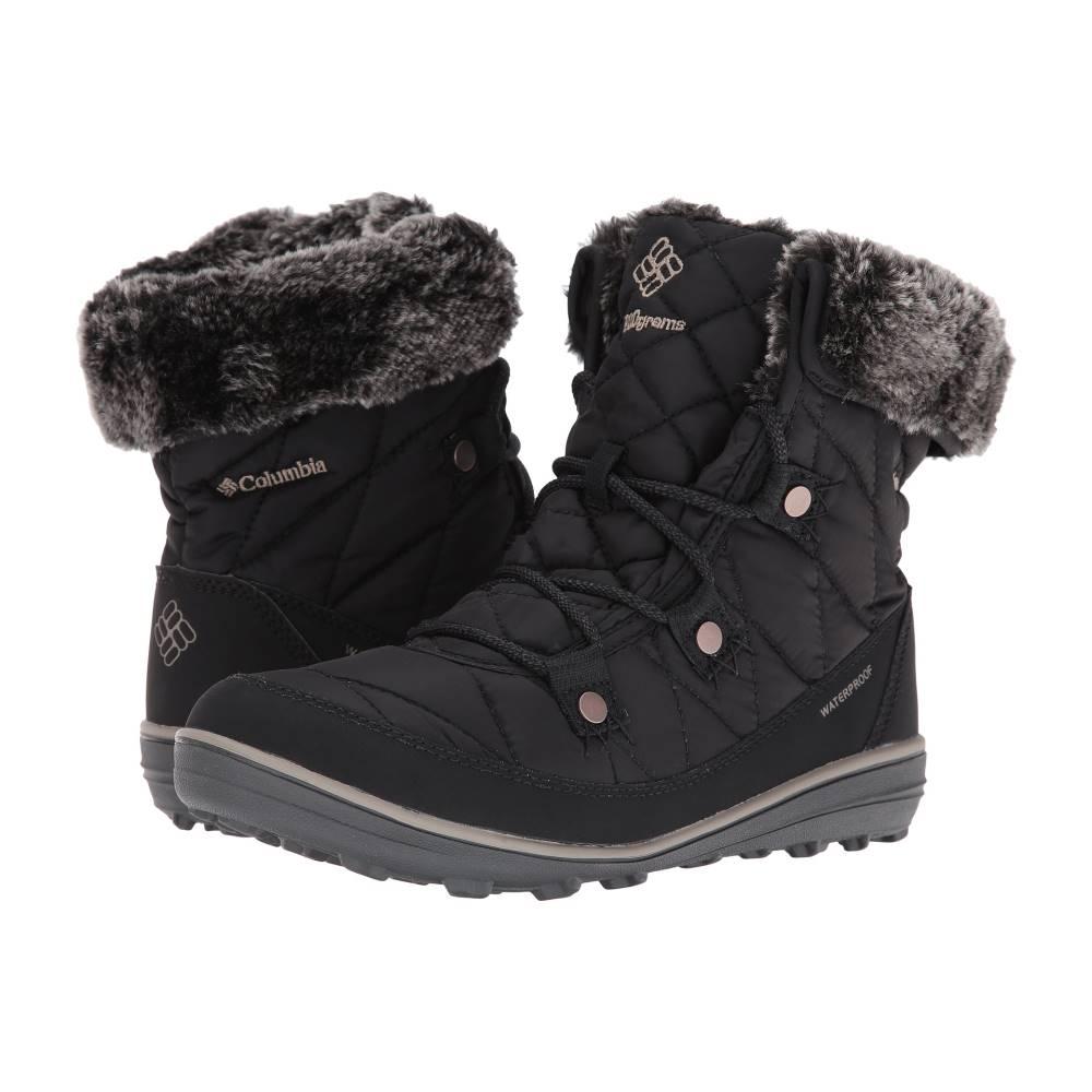 コロンビア レディース シューズ・靴 ブーツ【Heavenly Shorty Omni-Heat】Black/Kettle コロンビア レディース シューズ・靴 ブーツ Black/Kettle 【サイズ交換無料】暑い