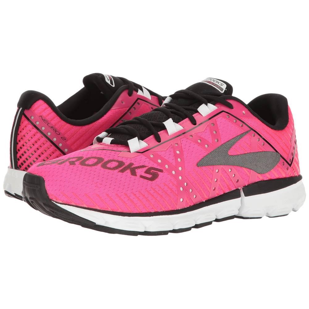 ブルックス レディース シューズ・靴 スニーカー【Neuro 2】Pink Glo/Black/White ブルックス レディース シューズ・靴 スニーカー Pink Glo/Black/White 【サイズ交換無料】詳しい