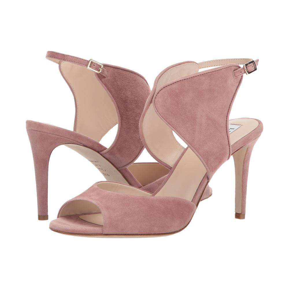 エルケーベネット レディース シューズ・靴 サンダル・ミュール【Cecilia】Dark Pink Suede エルケーベネット レディース シューズ・靴 サンダル・ミュール Dark Pink Suede 【サイズ交換無料】工芸