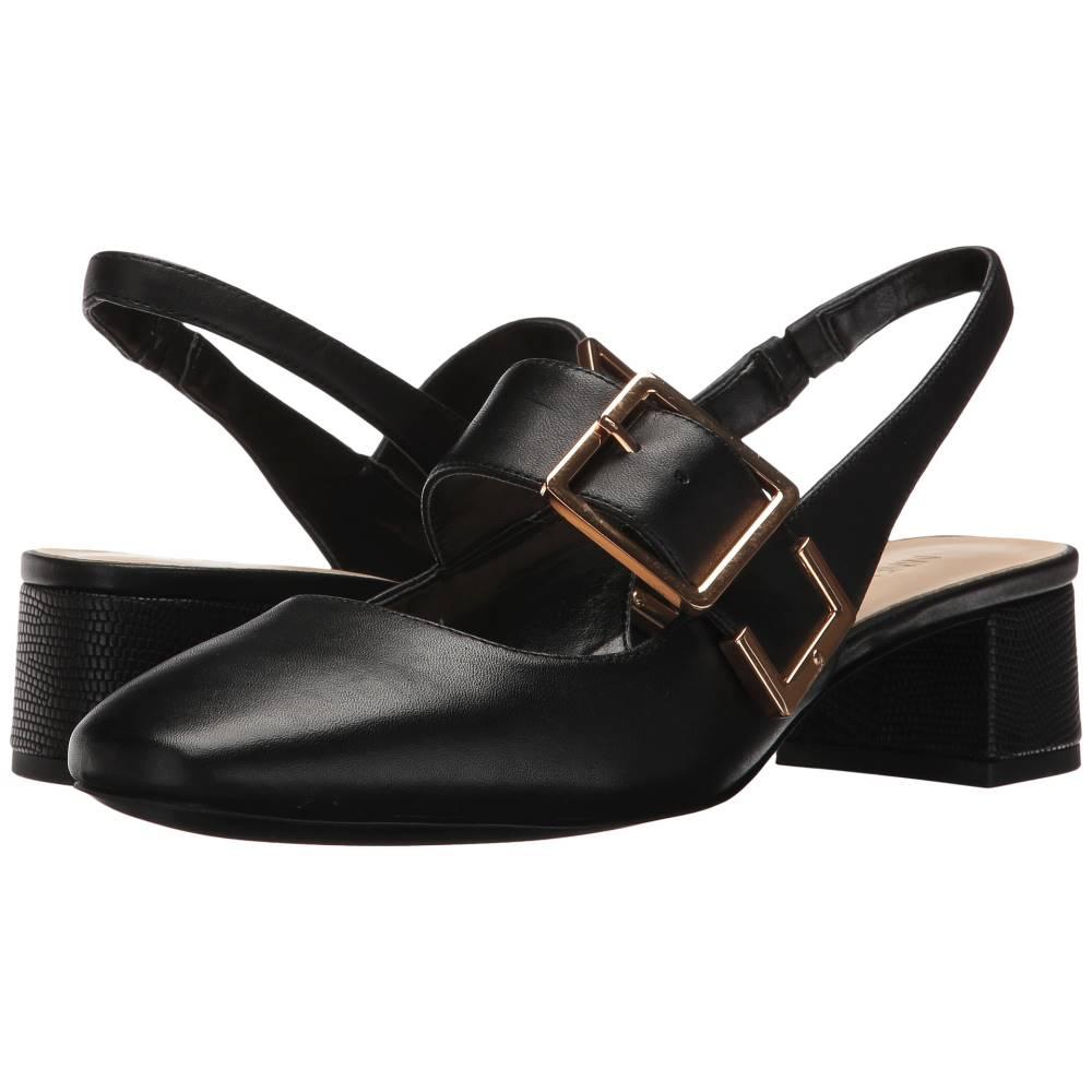 ナインウェスト レディース シューズ・靴 ヒール【Wendor】Black Leather ナインウェスト レディース シューズ・靴 ヒール Black Leather 【サイズ交換無料】田中美智子