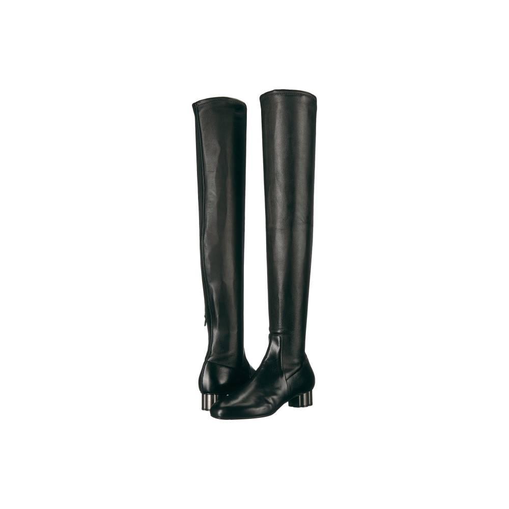 サルヴァトーレ フェラガモ レディース シューズ・靴 ブーツ【Brindisi】Nero Stretch Nappa Leather