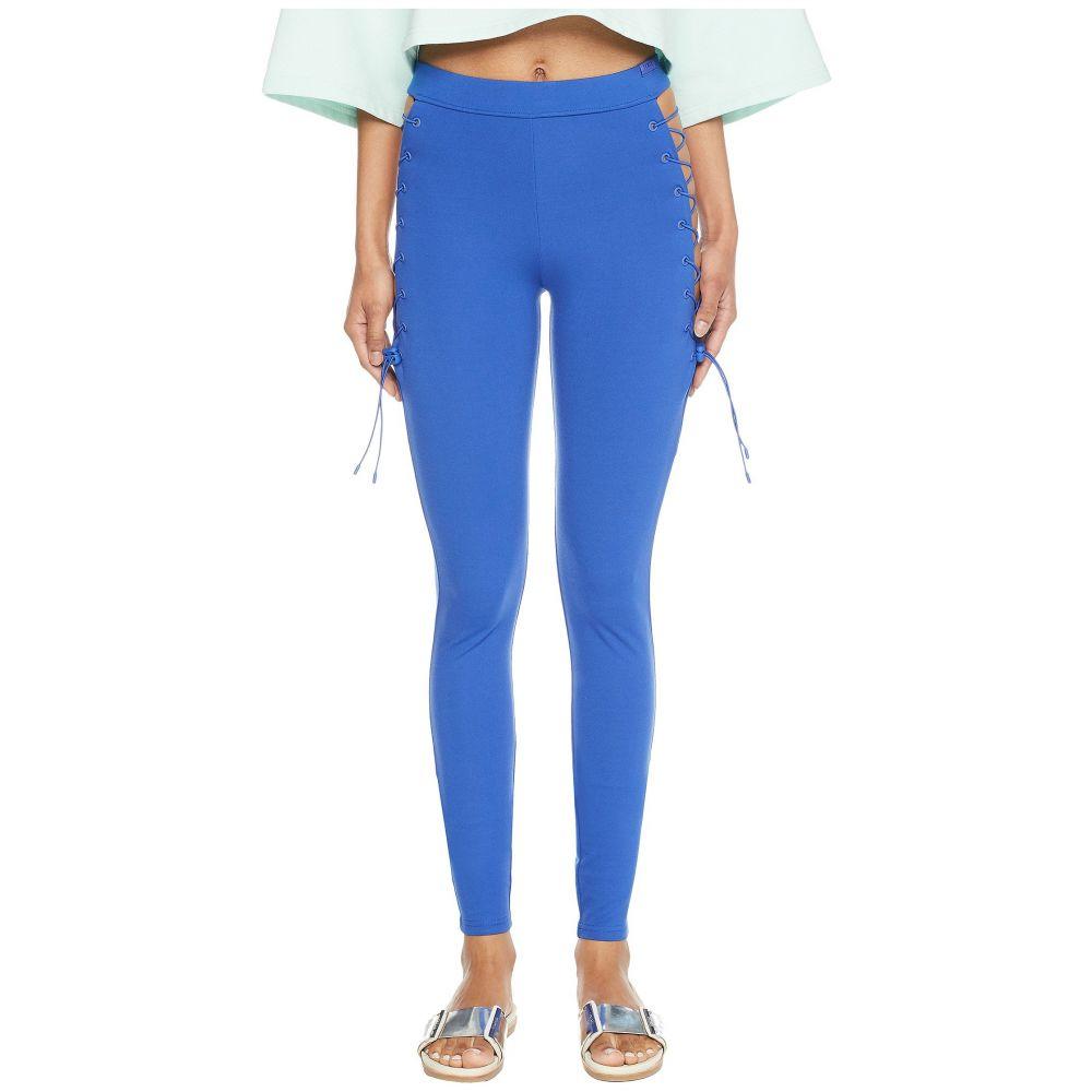 プーマ レディース インナー・下着 スパッツ・レギンス【Puma x Fenty by Rihanna Side Lace Leggings】Dazzling Blue