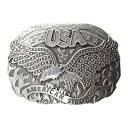 еиеревеєе╔еие╒ ежеие╣е┐еє есеєе║ е┘еые╚б┌American Strong USA Eagle Oval Buckleб█Silver