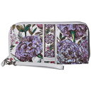 ������ �֥�åɥ꡼ Vera Bradley ��ǥ����� �Хå� ����å��Хå���Iconic RFID Accordion Wristlet��Lavender Meadow