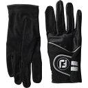 フットジョイ FootJoy メンズ ゴルフ グローブ【Raingrip Regular Golf Gloves Pair】Black