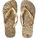 ハワイアナス Havaianas レディース ビーチサンダル シューズ・靴【Top Animals Flip Flops】Rose Gold