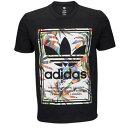 アディダス メンズ トップス Tシャツ【adidas Originals Graphic T-Shirt】Black/Multi