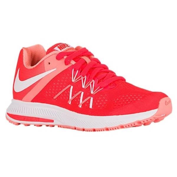 ナイキ レディース ランニング・ウォーキング シューズ・靴【Nike Air Zoom Winflo 3】Bright Crimson/Atomic Pink/White/White ナイキ レディース ランニング・ウォーキング シューズ・靴 【サイズ交換無料】割引(割引)