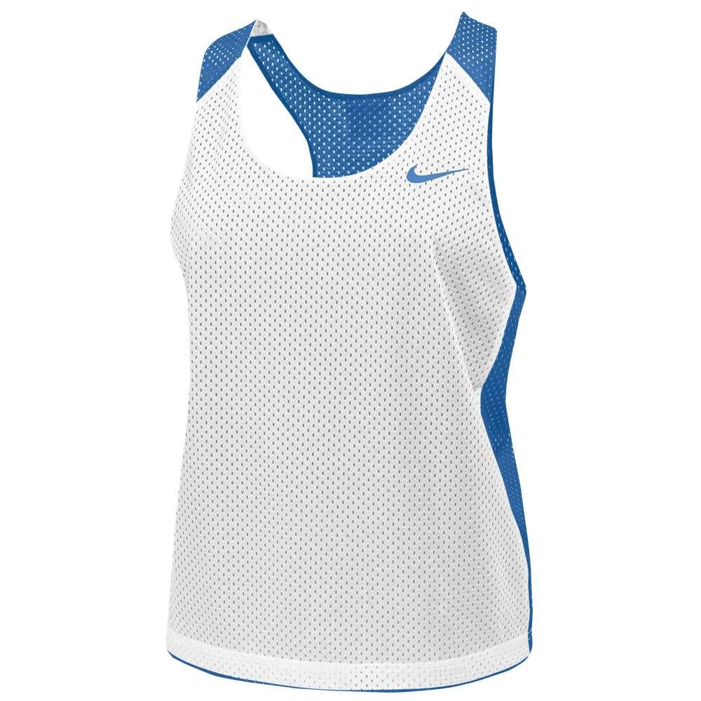 ナイキ レディース ラクロス トップス【Nike Team Reversible Mesh Tank】Light Blue/White