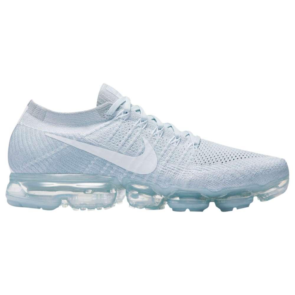 ナイキ メンズ ランニング・ウォーキング シューズ・靴【Nike Air VaporMax Flyknit】Pure Platinum/White/Wolf Grey