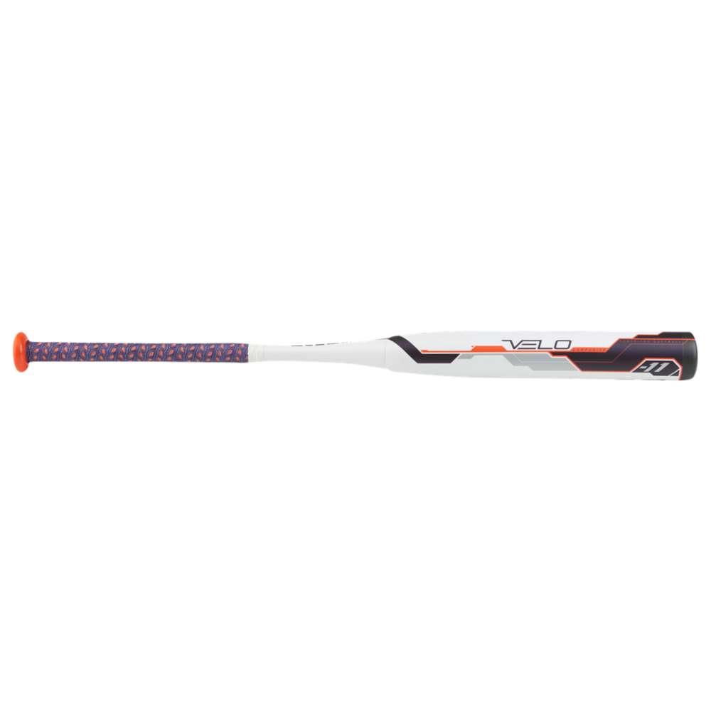 ローリングス レディース 野球【Rawlings Velo Fastpitch Bat】White/Grey/Orange