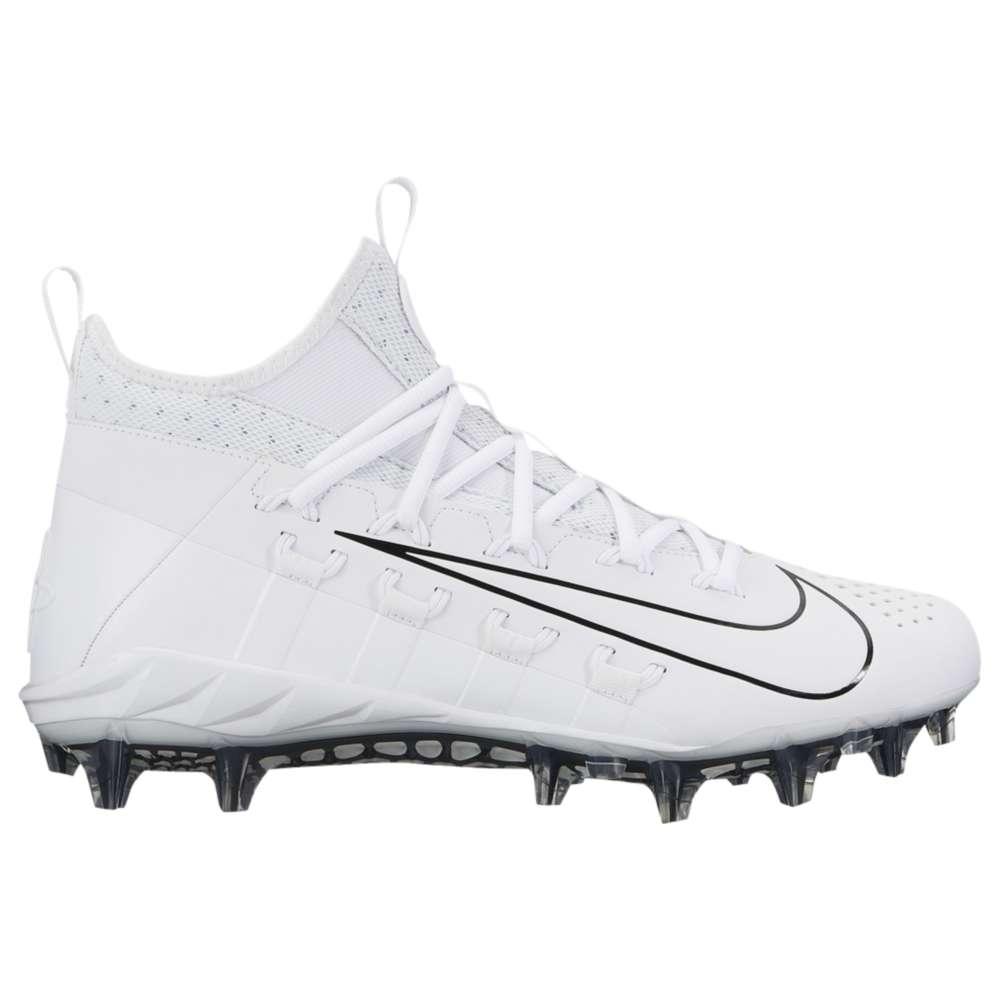 ナイキ メンズ ラクロス シューズ・靴【Nike Alpha Huarache 6 Elite LAX】White/White/Black/Black