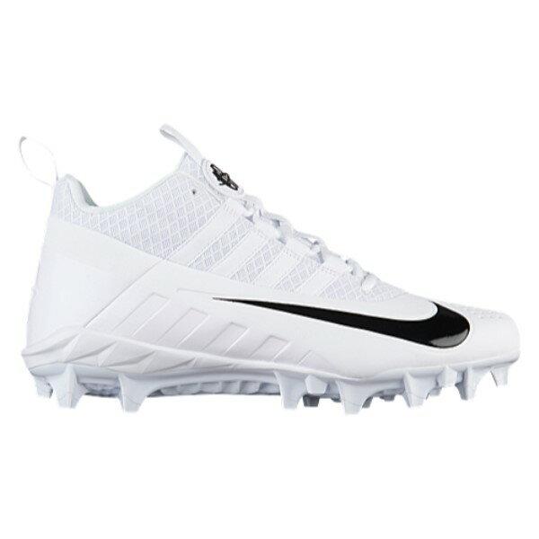 ナイキ メンズ ラクロス シューズ・靴【Nike Alpha Huarache 6 Pro LAX】White/Black/White
