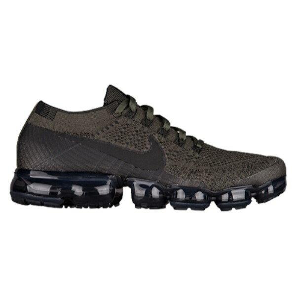 ナイキ メンズ ランニング・ウォーキング シューズ・靴【Nike Air VaporMax Flyknit】Cargo Khaki/Black/Med Olive/Dark Grey