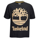 ティンバーランド メンズ トップス Tシャツ【90's Inspired S/S T-Shirt】Black/Cornstalk