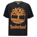 ティンバーランド メンズ トップス Tシャツ【90's Inspired S/S T-Shirt】Black/Wheat
