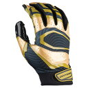 еле├е┐б╝е║ есеєе║ евесеъелеєе╒е├е╚е▄б╝еы е░еэб╝е╓б┌Rev Pro 3.0 Metallic Receiver Glovesб█Black/Metallic Gold