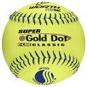 ワース Worth メンズ 野球 ボール【Super Gold Dot Pro Tac Softballs】Yellow