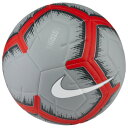 ナイキ Nike ユニセックス サッカー ボール【Strike Soccer Ball】Pure Platinum/Wolf Grey/Bright Crimson