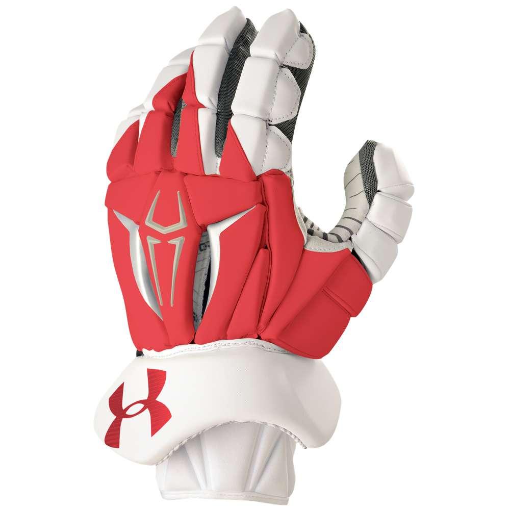 アンダーアーマー Under Armour メンズ ラクロス グローブ【Command Pro II Glove】Red