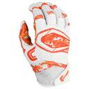 カッターズ Cutters メンズ アメリカンフットボール レシーバーグローブ グローブ【rev pro 2.0 camo receiver gloves】Orange Camo Exclusive
