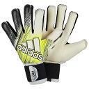 アディダス adidas ユニセックス サッカー グローブ【Classic Pro】Black/Solar Yellow/White