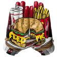 アンダーアーマー メンズ アメフト グローブ 手袋【Under Armour F5 Football Gloves】White/Black/Black