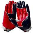 アンダーアーマー メンズ アメフト グローブ 手袋【Under Armour Swarm II State Pride Football Gloves】White/Navy/Red【10P03Dec16】