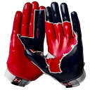 アンダーアーマー メンズ アメフト グローブ 手袋【Under Armour Swarm II State Pride Football Gloves】Whit...
