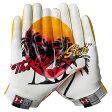 アンダーアーマー メンズ アメフト グローブ 手袋【Under Armour Swarm II State Pride Football Gloves】White/Orange/Taxi【10P03Dec16】