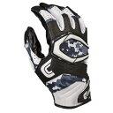 カッターズ メンズ アメフト グローブ 手袋【Cutters Rev Pro 2.0 Receiver Gloves】Black/White