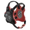 クリフ キーン メンズ レスリング ガード【Cliff Keen F5 Tornado Headgear】Black/Red/Black