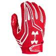 アンダーアーマー メンズ アメフト グローブ 手袋【Under Armour Swarm II Football Gloves】Red/White/White【10P03Dec16】