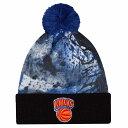 ニューエラ メンズ 帽子 ニット【New Era NBA Paint Splatter Cuff Pom Knit】Multi
