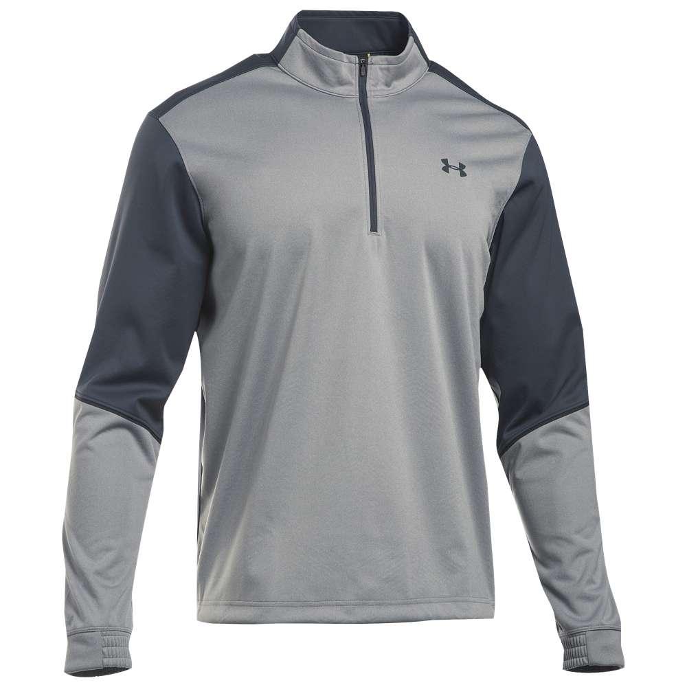 アンダーアーマー メンズ ゴルフ ウェア ジャケット【Under Armour Elements Golf 1/2 Zip Jacket】True Grey Heather/Stealth Grey アンダーアーマー メンズ ゴルフ ウェア 【サイズ交換無料】?長い