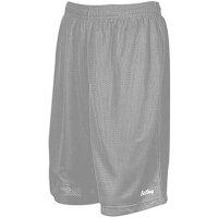 イーストベイ メンズ バスケットボール ウェア ボトムス【Eastbay 9 Basic Mesh Shorts】Star Silverの画像