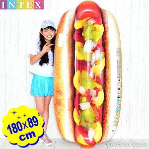 58771 ホット ドッグ マット 幅180×高さ89cm INTEX イ