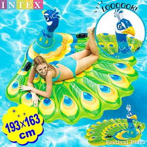 57250 ピーコック アイランド 193×163×94cm INTEX イ