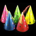 単価60円x10個三角帽子スノーラッキー(大){おもちゃ オ...
