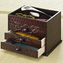 『鎌倉彫り調手許箱』整理箱 和家具 手元箱 整理箱 収納ボックス アウトレットOUTLET