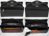 送料無料、代引手数料無料カステルバジャックセカンドバッグ横型トリエ黒164202