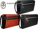 [second bag] Castelbajac CASTELBAJAC free shipping collect on delivery fee free of charge コングルシリーズセカンドバッグビジネス cowhide black, brown, chocolate 054202