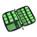 万能モバイル収納ケース 整理バッグ 収納バッグ 収納ポーチ PC周辺 小物 軽量 生活防水 スマホ PC タブレット アクセサリー 旅行用 ブラック