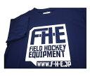 F-H-E Tシャツ 紺【Tシャツ】【フィールドホッケー 】【ドライTシャツ】【吸汗速乾】