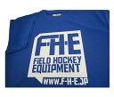 F-H-E Tシャツ 青【フィールドホッケー】【Tシャツ】【ドライTシャツ】【吸汗速乾】
